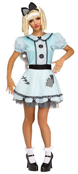 Wind-Up Doll Adult Costume