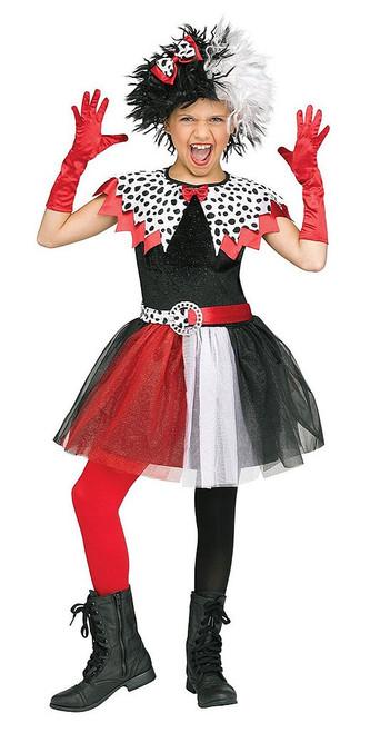 Dalmatian Diva Cruella de Vil for Child