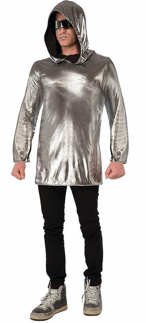 Silver Adult Hoodie