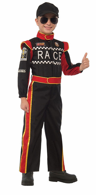 Car Racing Pilot Kids Costume