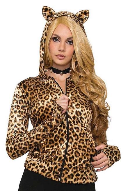 Leopard Women Hoodie