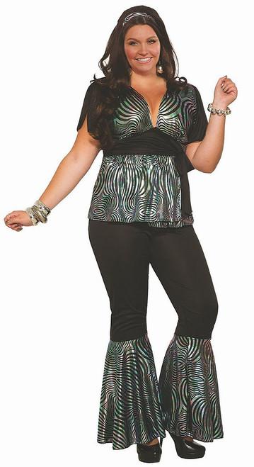 Disco Dancer Women Costume Plus