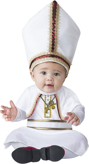 Pint Sized Pope Baby Costume