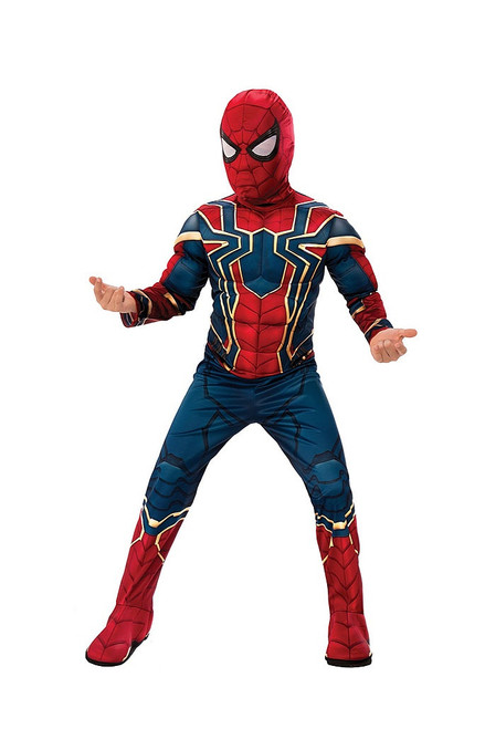 Spider Man Iron Deluxe Kid Costume