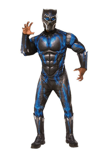 Black Panther Muscle Chest Adult Costume