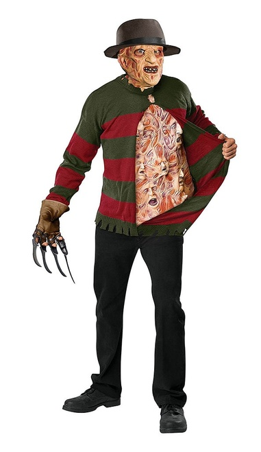 Freddy Krueger Adult Sweater with Chest