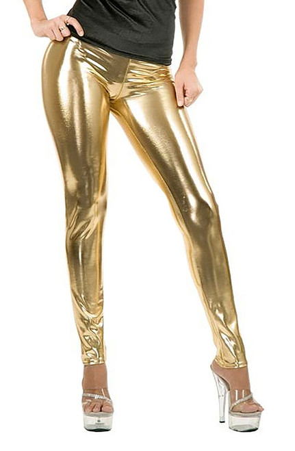 Gold Leggings Women