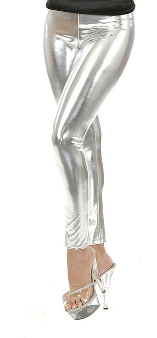 Silver Leggings Women