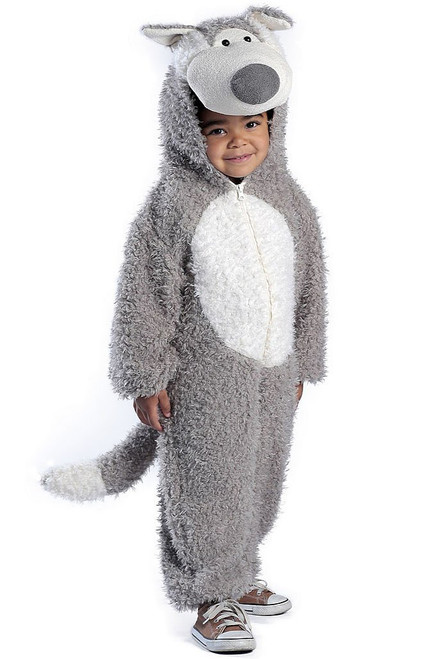 Wolf Toddler Jumpsuit Costume