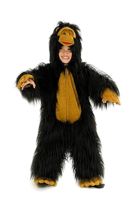 Gorilla Boy Jumpsuit Costume