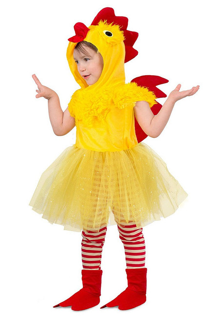 Chicken Girl Toddler Costume