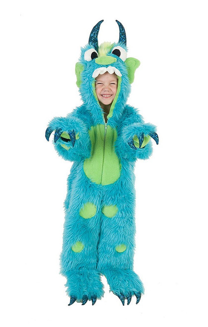 Monster Toddler Jumpsuit Costume