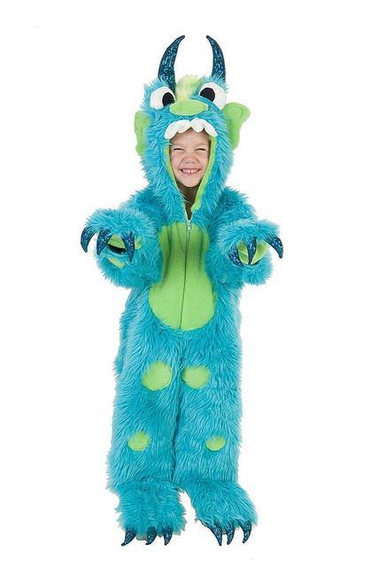 Monster Toddler Jumpsuit Costume