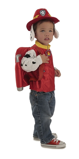 Paw Patrol Marshall Boy Costume