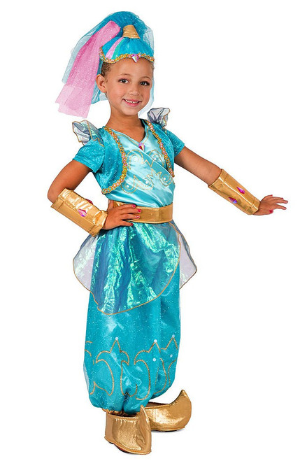 Shine Genie Girl Costume