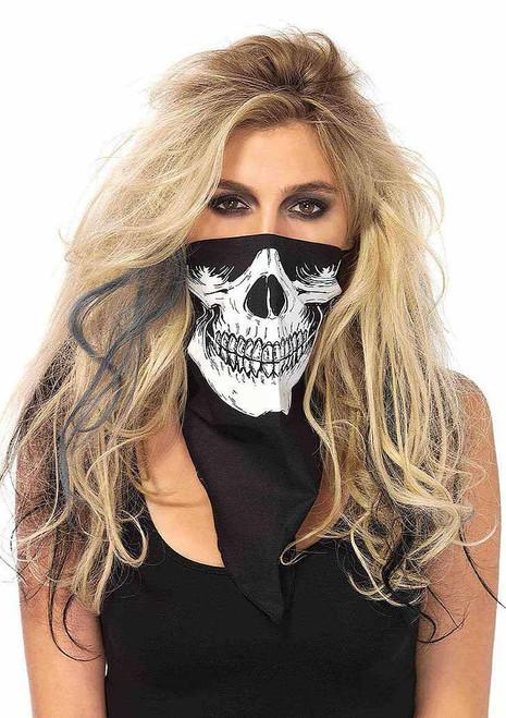 Skull Scarf Womens Accessory
