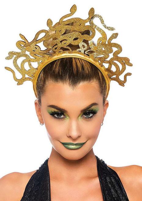 Medusa Glitter Headband