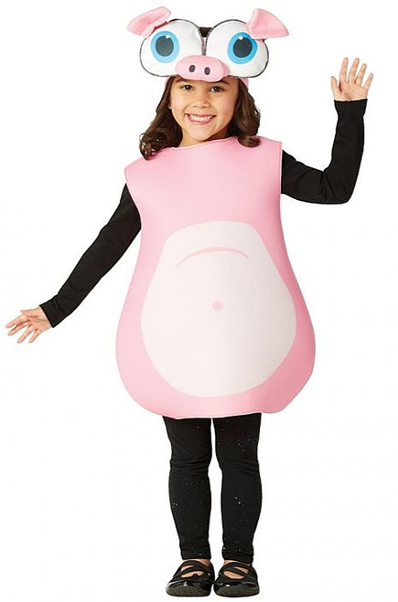 Big Eyed Pig Kids Costume