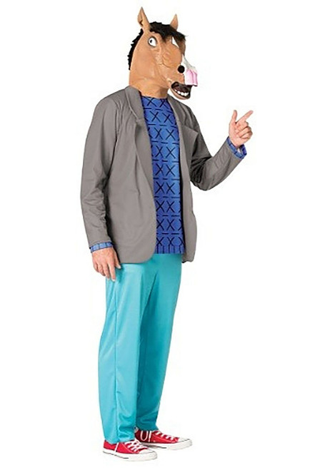 BoJack Horseman Costume and Mask