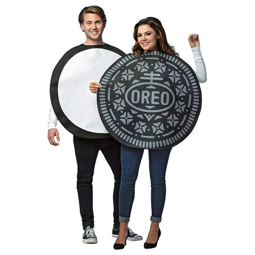 Oreo Cookie Couple Costumes
