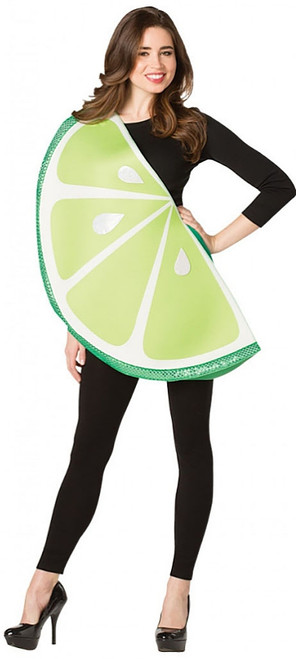 Lime Slice Womens Costume