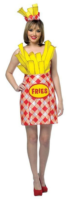 Foodies French Fries Dress