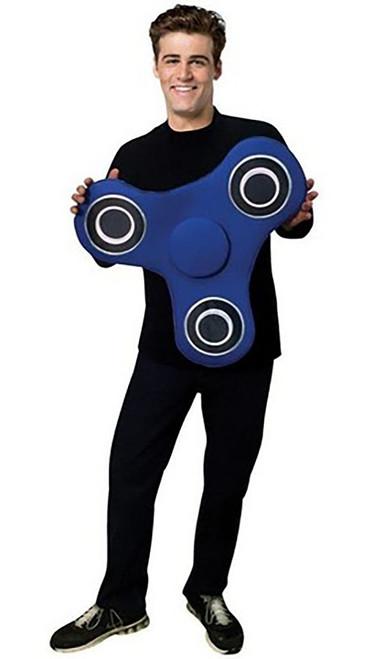 Fidget Spinner Blue Costume Kit