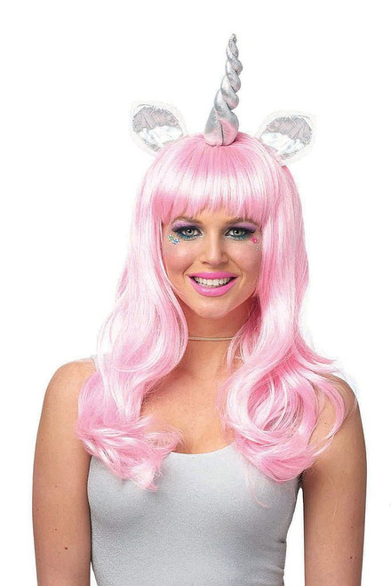 Magical Unicorn Wig Light Pink