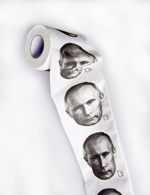 Vladimir Putin Toilet Paper