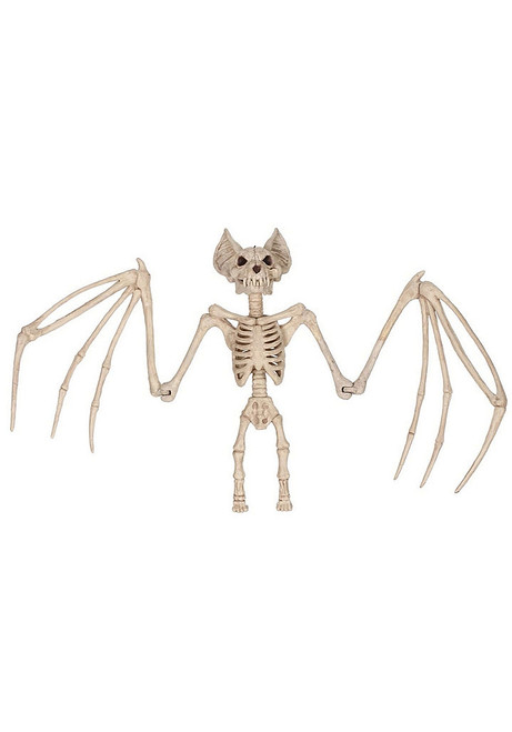 Large Bat Skeleton Decoration 22""