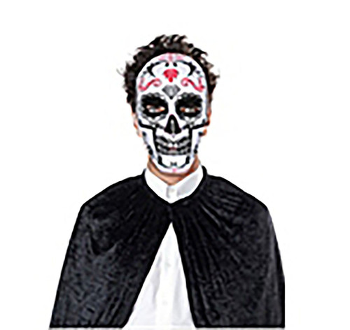 Day of the Dead Pink Skull Mask
