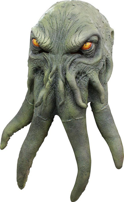 Green Lovecraft Cthulu Mask