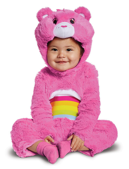 Cheer Bear Toddler Girl Costume