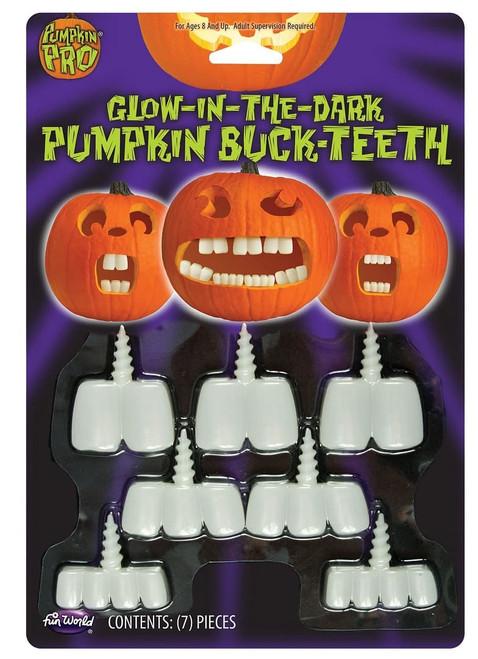 Pumpking Glow-In-The-Dark Fangs