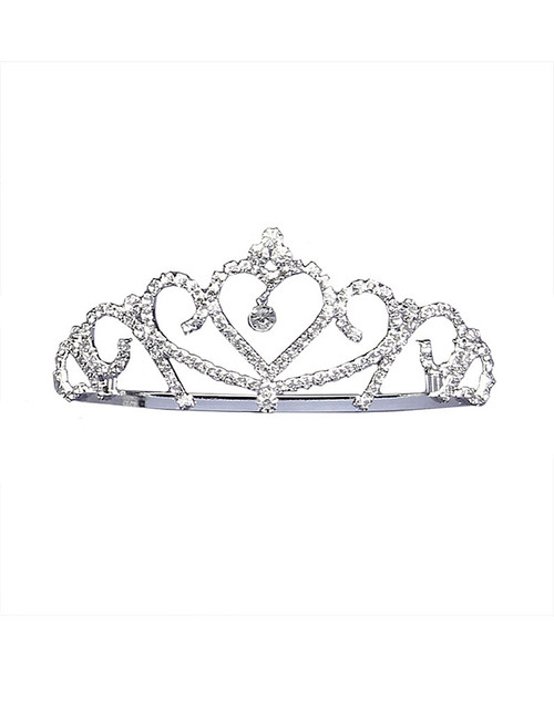 Heart Jewelled Tiara