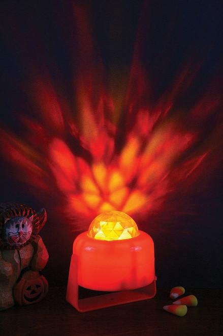 Flaming Pumpkin Light Decoration