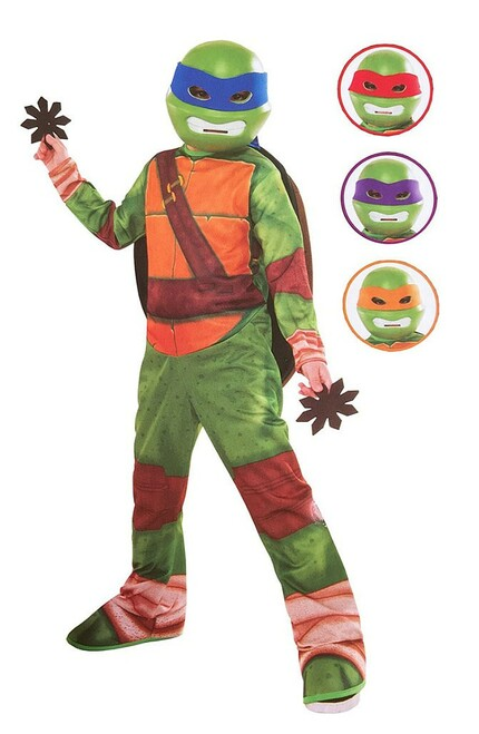 TMNT Character Set Costume for Kids
