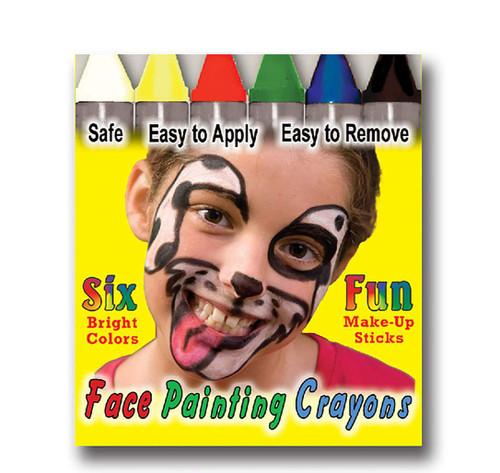 6 Bright Makeup Crayons