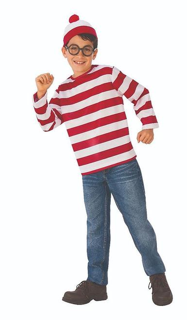 Where's Waldo Teen Costume