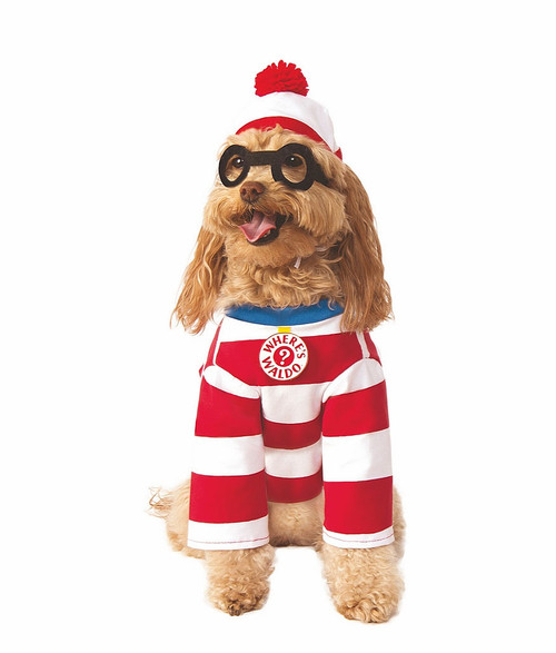 Where's Waldo Pet Costume
