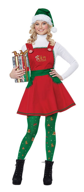 Elf In Charge Adult Costume