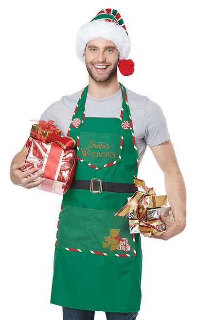 Santa Workshop Adult Apron