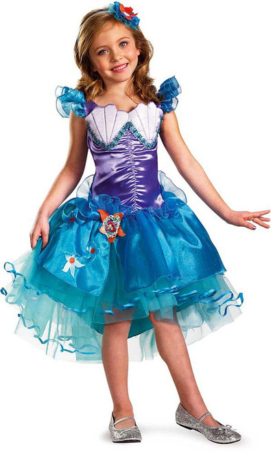 Ariel Mermaid Prestige Girl Costume
