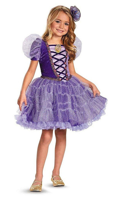 Disney Rapunzel Girl Costume