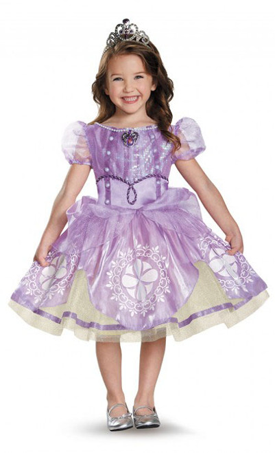 Disney Princess Sofia Girl Costume