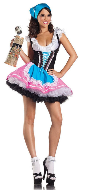Bavarian Girl Oktoberfest Costume