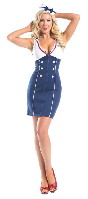 Sexy Sailor Womens Costume