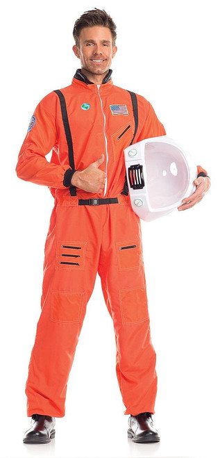 Astronaut in Orange Costume