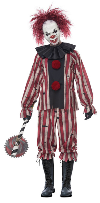 Nightmare Clown Man Costume