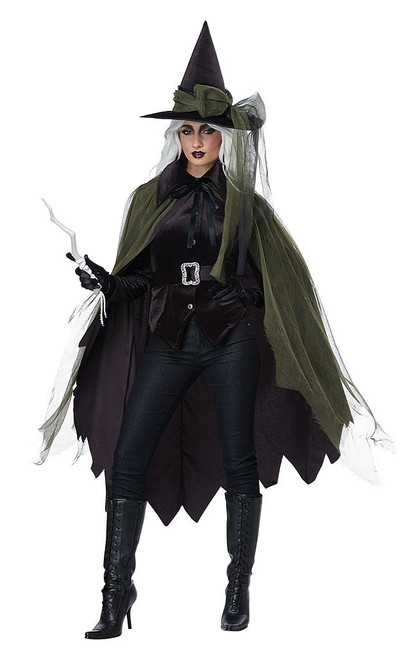 Gothic Witch Woman Costume